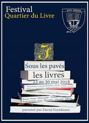 Quartier du Livre, sous les pavés, les livres !